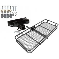 Trailer Tow Hitch For 02-03 Dodge Ram 1500 Basket Cargo Carrier Platform w/ Hitch Pin