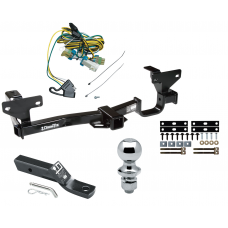 """Trailer Tow Hitch For 02-07 Buick Rendezvous 01-05 Pontiac Aztek Complete Package w/ Wiring and 1-7/8"""" Ball"""