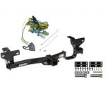 Trailer Tow Hitch For 02-07 Buick Rendezvous 01-05 Pontiac Aztek w/ Wiring Harness Kit