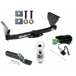 """Trailer Tow Hitch For 99-04 Jeep Grand Cherokee Complete Package w/ Wiring and 2"""" Ball"""