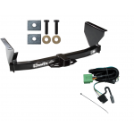 Trailer Tow Hitch For 99-04 Jeep Grand Cherokee w/ Wiring Harness Kit
