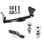 """Trailer Tow Hitch For 99-04 Jeep Grand Cherokee Receiver w/ 1-7/8"""" and 2"""" Ball"""