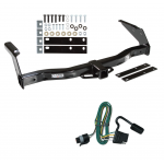 Trailer Tow Hitch For 93-98 Dodge Van B150 B1500 B250 B2500 B350 B3500 w/ Wiring Harness Kit