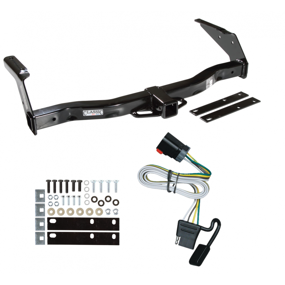 trailer tow hitch for 99-00 dodge van ram 1500 2500 3500 w ... 2002 dodge ram 1500 trailer brake wiring diagram #7