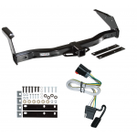 Trailer Tow Hitch For 99-00 Dodge Van Ram 1500 2500 3500 w/ Wiring Harness Kit