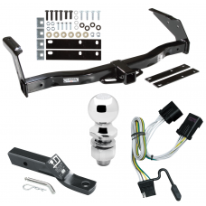 "Trailer Tow Hitch For 01-03 Dodge Van Ram 1500 2500 3500 Complete Package w/ Wiring and 2"" Ball"