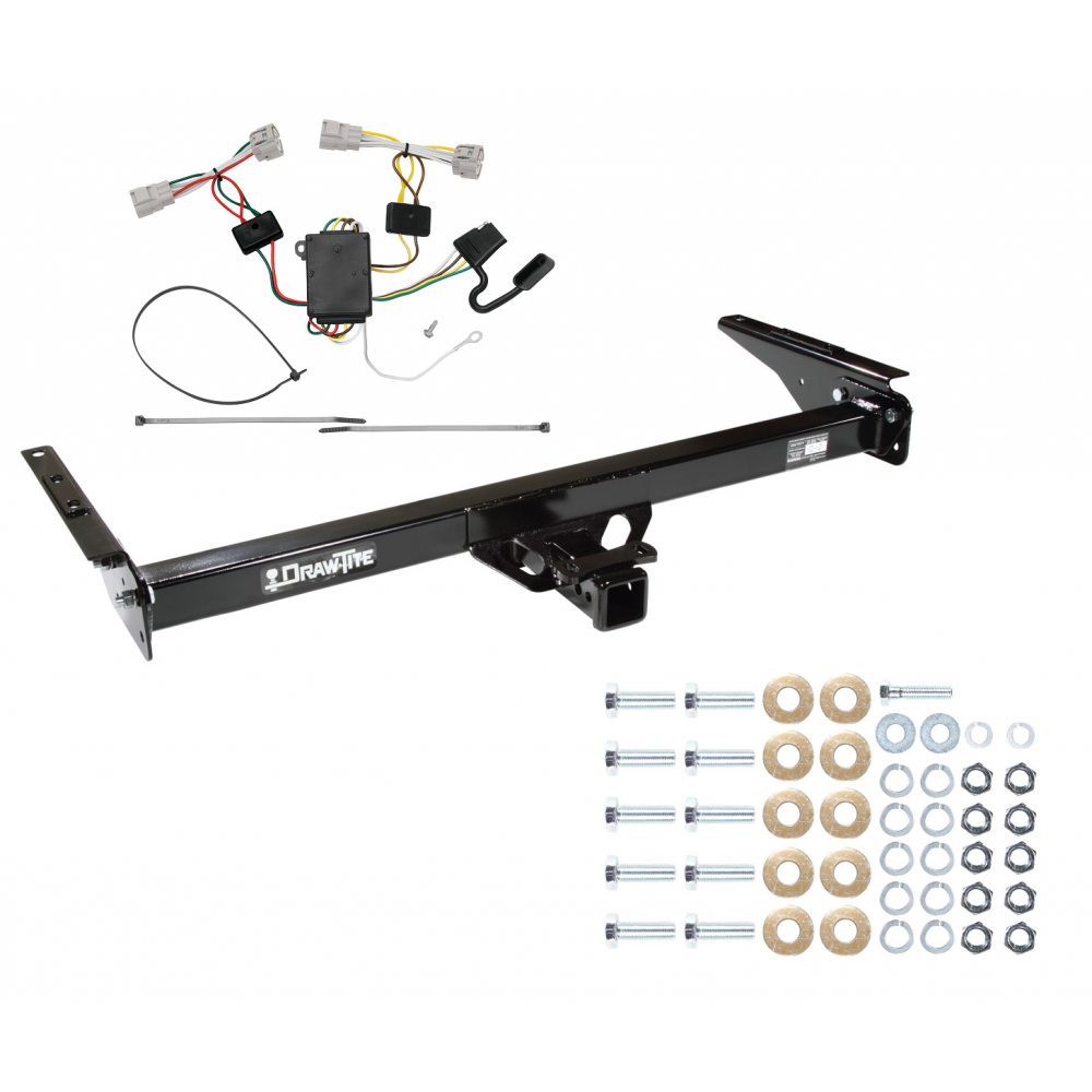 trailer tow hitch for 93-98 toyota t100 w/ wiring harness kit toyota oem trailer wiring harness #11
