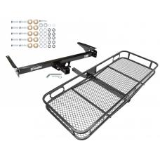 Trailer Tow Hitch For 93-98 Toyota T100 All Styles Basket Cargo Carrier Platform w/ Hitch Pin