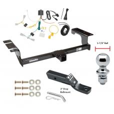 "Trailer Tow Hitch For 06-07 Nissan Murano Complete Package w/ Wiring and 1-7/8"" Ball"