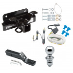 "Trailer Tow Hitch For 03-09 Dodge Ram 1500 2500 3500 Complete Package w/ Wiring and 1-7/8"" Ball"