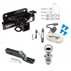 """Trailer Tow Hitch For 03-09 Dodge Ram 1500 2500 3500 Complete Package w/ Wiring and 1-7/8"""" Ball"""