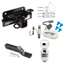 """Trailer Tow Hitch For 03-09 Dodge Ram 1500 2500 3500 Complete Package w/ Wiring and 2"""" Ball"""