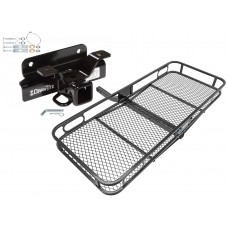 Trailer Tow Hitch For 03-08 Dodge Ram 1500 2500 3500 Basket Cargo Carrier Platform w/ Hitch Pin