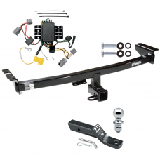 """Trailer Tow Hitch For 05-14 Volvo XC90 Complete Package w/ Wiring and 1-7/8"""" Ball"""