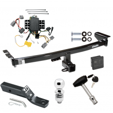 """Trailer Tow Hitch For 05-14 Volvo XC90 Deluxe Package Wiring 2"""" Ball and Lock"""