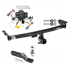 """Trailer Tow Hitch For 05-14 Volvo XC90 Complete Package w/ Wiring and 2"""" Ball"""