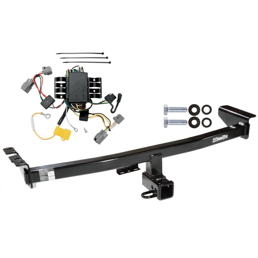 Trailer Tow Hitch For 05-14 Volvo XC90 w/ Wiring Harness Kit | Volvo Xc90 Trailer Wiring |  | Trailer Jack
