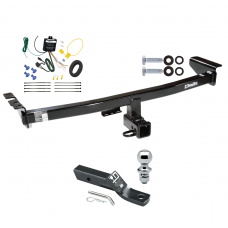 """Trailer Tow Hitch For 03-04 Volvo XC90 Complete Package w/ Wiring and 1-7/8"""" Ball"""