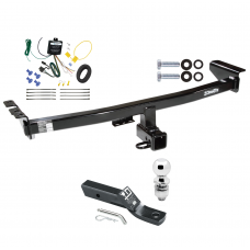 """Trailer Tow Hitch For 03-04 Volvo XC90 Complete Package w/ Wiring and 2"""" Ball"""