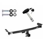 Trailer Tow Hitch For 2003-2014 Volvo XC90 w/ Security Lock Pin Key