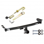 "Trailer Tow Hitch For 2003-2014 Volvo XC90 Class 3 2"" Towing Receiver w/ J-Pin Anti-Rattle Lock"