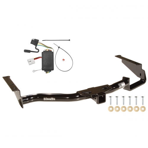 trailer tow hitch for 04 07 toyota highlander w wiring harness kit 2013 toyota highlander accessories toyota highlander hitch wiring #31