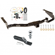 "Trailer Tow Hitch For 04-06 Lexus RX330 07-09 RX350 Complete Package w/ Wiring and 1-7/8"" Ball"