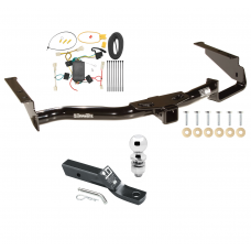 "Trailer Tow Hitch For 04-06 Lexus RX330 07-09 RX350 Complete Package w/ Wiring and 2"" Ball"