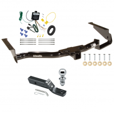 "Trailer Tow Hitch For 06-08 Lexus RX400h Complete Package w/ Wiring and 1-7/8"" Ball"
