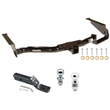 "Trailer Tow Hitch For 04-07 Toyota Highlander Lexus RX330 07-09 RX350 06-08 RX400h w/ 1-7/8"" and 2"" Ball"