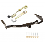 Trailer Tow Hitch For 04-07 Toyota Highlander Lexus RX330 07-09 RX350 RX400h w/ J-Pin Anti-Rattle Lock