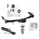 "Trailer Tow Hitch For 03-09 Lexus GX470 07-09 Toyota 4Runner Complete Package w/ Wiring and 1-7/8"" Ball"