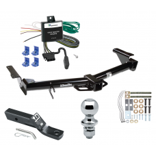 "Trailer Tow Hitch For 03-06 Toyota 4Runner Complete Package w/ Wiring and 1-7/8"" Ball"