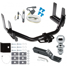 "Trailer Tow Hitch For 04-05 Ford F-150 06 Lincoln Mark LT Complete Package w/ Wiring and 1-7/8"" Ball"