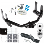 "Trailer Tow Hitch For 04-05 Ford F-150 06 Lincoln Mark LT Complete Package w/ Wiring and 2"" Ball"