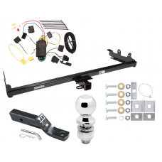 "Trailer Tow Hitch For 04-07 Ford Freestar Mercury Monterey Complete Package w/ Wiring and 2"" Ball"