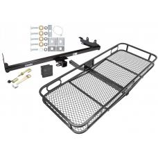 Trailer Tow Hitch For 04-07 Ford Freestar Mercury Mountaineer Basket Cargo Carrier Platform Hitch Lock and Cover