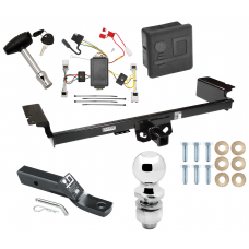 """Trailer Tow Hitch For 04-09 Nissan Quest Deluxe Package Wiring 2"""" Ball and Lock"""