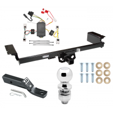 """Trailer Tow Hitch For 04-09 Nissan Quest Complete Package w/ Wiring and 2"""" Ball"""
