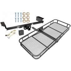 Trailer Tow Hitch For 04-09 Nissan Quest Basket Cargo Carrier Platform Hitch Lock and Cover