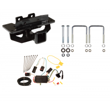 Trailer Tow Hitch For 04-09 Dodge Durango 07-09 Chrysler Aspen w/ Wiring Harness Kit