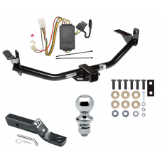 "Trailer Tow Hitch For 04-05 Mitsubishi Endeavor Complete Package w/ Wiring and 1-7/8"" Ball"