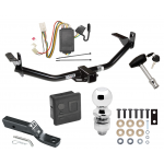 """Trailer Tow Hitch For 04-05 Mitsubishi Endeavor Deluxe Package Wiring 2"""" Ball and Lock"""