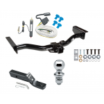 """Trailer Tow Hitch For 03-06 Cadillac Escalade Complete Package w/ Wiring and 1-7/8"""" Ball"""