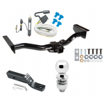 """Trailer Tow Hitch For 03-06 Cadillac Escalade Complete Package w/ Wiring and 2"""" Ball"""