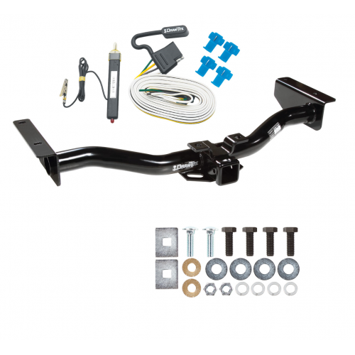 trailer tow hitch for 03 06 cadillac escalade w wiring harness kit