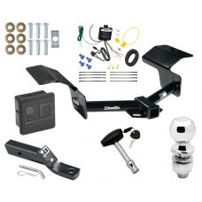 """Trailer Tow Hitch For 04-09 Cadillac SRX w/o Sport Package Fascia Deluxe Package Wiring 2"""" Ball and Lock"""