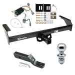 "Trailer Tow Hitch For 98-04 Nissan Frontier Complete Package w/ Wiring and 1-7/8"" Ball"