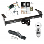 "Trailer Tow Hitch For 98-04 Nissan Frontier Complete Package w/ Wiring and 2"" Ball"