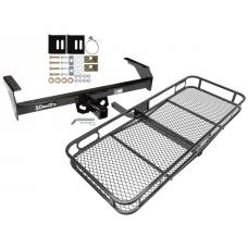 Trailer Tow Hitch For 88-04 Nissan Frontier Pickup D21 Basket Cargo Carrier Platform w/ Hitch Pin